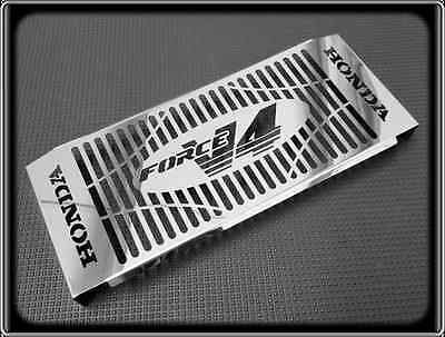 Radiator Grill for HONDA VFR400 NC21 to NC30, VFR 400 (Polished Cover Guard)