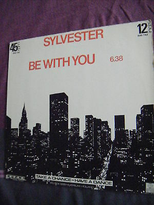 """Sylvester - Be With You / Be With You [special edit version] - 12"""""""