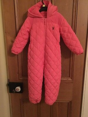 Next Girls Quilted Snowsuit, Age 4-5
