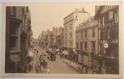 EXETER HIGH STREET, POSTCARD EARLY 20th CENTURY