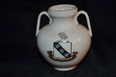Vintage W H GOSS Crested China Model of Roman Vase found at Jordan Hill Weymouth