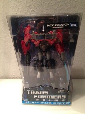 Transformers Prime 1st First Edition Optimus Prime Figure Takara Tomy Japan New!