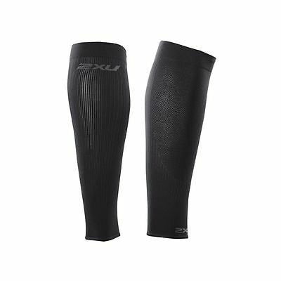 2XU Compression Calf Sleeves Unisex Black Small