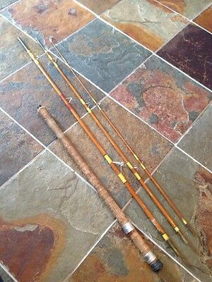 Vintage Milward Split Cane Coarse Rod. 4 Piece. 11 Feet. Rare.