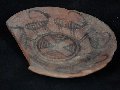 Ancient Teracotta Painted Plate With Animals Indus Valley 2500 BC  #PT15660
