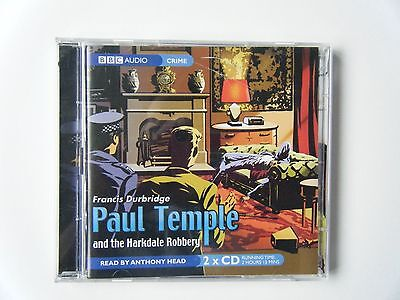 Paul Temple and the Harkdale Robbery - 2 Cd Audiobook