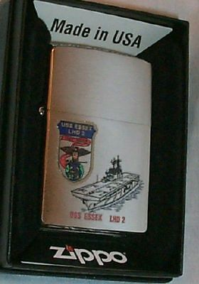 USS Essex LHD-2   US Navy Zippo Lighter