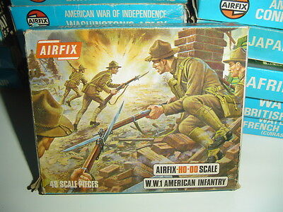 Airfix Ho / 1/76 / 1/72 S29-59 Wwi American Infantry