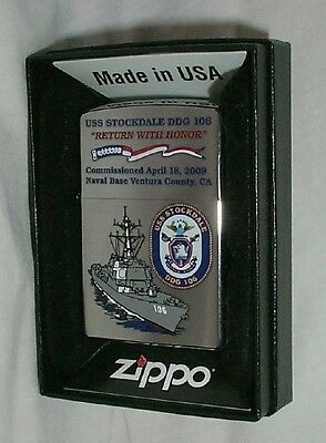 Uss Stockdale Zippo Ddg 106      Pow  Return With Honor