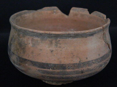 Ancient Teracotta Painted Pot Indus Valley 2500 BC No Reserve   #PT15124