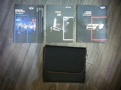 BMW Mini Countryman Handbook Including Radio Boost CD Booklet and Wallet