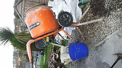 Electric Cement Mixer Belle 240V