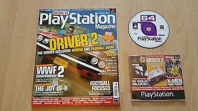 Official Playstation Magazine Issue 64 - November 2000 + Demo Disc