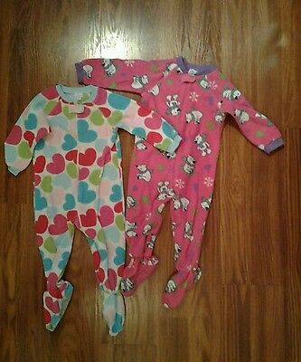 Baby Girls Sleeper Pajamas  size 24 months by Childrens Place