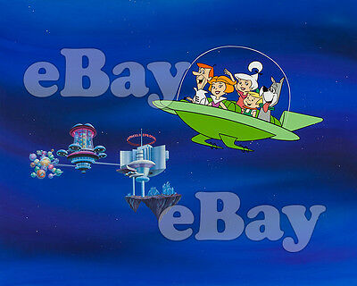 Rare! JETSONS MOVIE Cartoon Color TV Photo HANNA BARBERA Studios