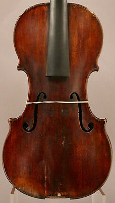 Old, Antique, Vintage Violin for Restoration Old Italian or French label