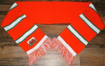 Wales/Cymru - National Woven Supporters Scarf - One Size