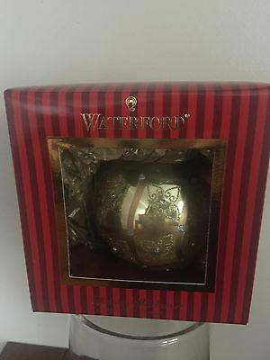 Waterford Holiday Heirlooms Christmas CELTIC SCROLL LARGE BALL, NIB