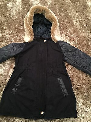 Ted Baker Girls Coat Age 5-6 Yrs