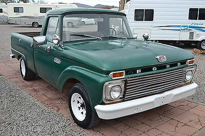 1965 Ford F-100  1965 Ford F100 Short Bed Patina Gloss Finish