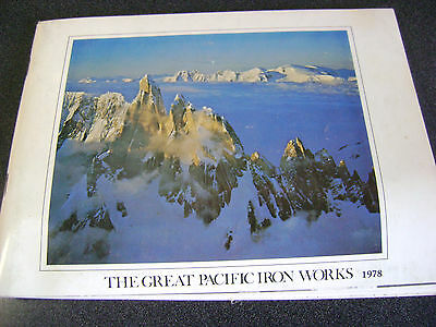 1978 Chouinard The Great Pacific Iron Works catalog Patagonia 80 pages