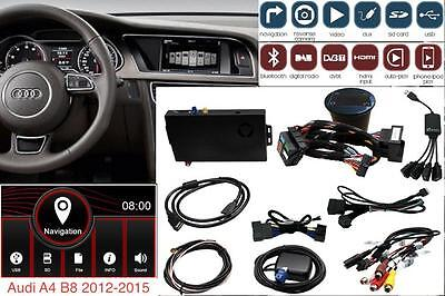 ADAPTIV Audi A4 B8 2012-2015 MMI farben 6.5 navigation Bluetooth iPhone USB AUX
