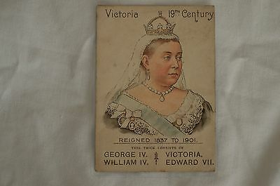 Mazawattee Tea & Cocoa Card Of Kings And Queens Of England