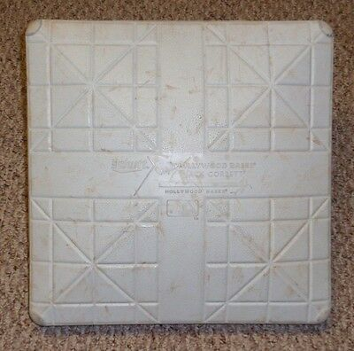 2014 Josh Beckett No Hitter Game Used Base - Dodgers / Phillies w/ Metal Post