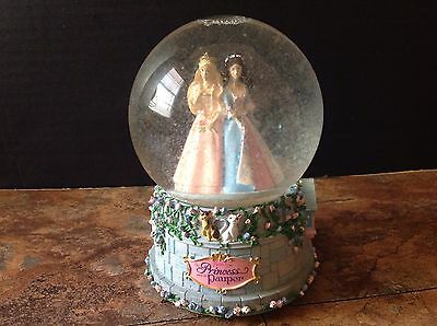 "Barbie ""The Princess and the Pauper"" Snowglobe plays Written in my Heart"