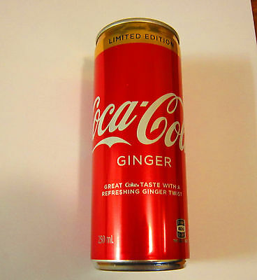 ***1 X Collectable Limited Edition Ginger Coca Cola Slim Line Can***