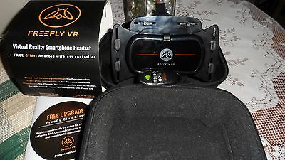 Free Fly Freefly Mobile Virtual Reality Headset & GLIDE Wireless Bluetooth