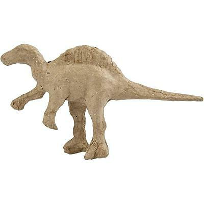 Kids Dinosaur Crafts 125mm Paper Mache T-Rex Dinosaur to Decorate