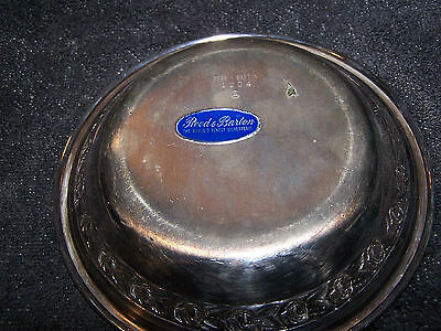 Reed and Barton vintage silverplated tray plate
