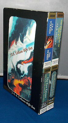 Lord of The Rings on Audio CD 17 Disc Gift Box Set CLEAN J.R.R. Tolkien BBC RARE