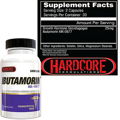 IBUTAMORIN by Hardcore Formulations, MK-677, Muscle, Strength, Recovery,