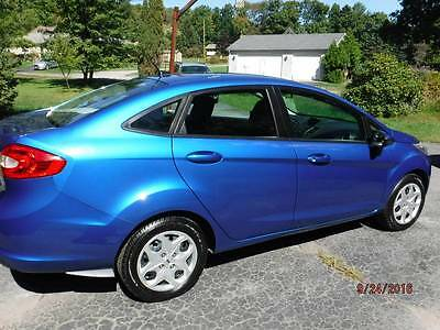 2011 Ford Fiesta  2011 Ford Fiesta blue in Excellent Condition 72,908 m