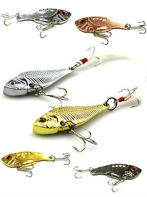 Fishing Lures Cicada blade bait spinner 70mm 10.7g lure perch chub trout bass