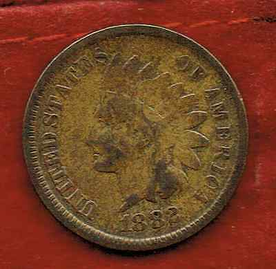 United States One Cent 1882 .indian Head [2]