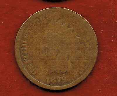 United States One Cent 1879  .indian Head [2]