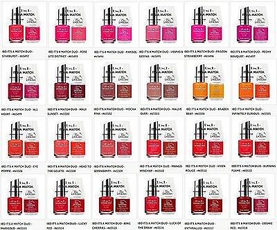 IBD Nail Just Gel Polish It's A Match Duo Variations 65492 to 65518 .5oz/14mL
