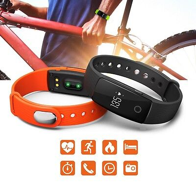 Braccialetto Fitness monitoraggio, notifiche Bluetooth Android iOS Smart Band