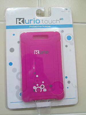 Kurio 4S Protective Style Bumper NEW No-slip grip Impact absorbing Purple Sealed