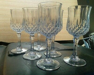 6 bohemian crystal glasses/cup with decanter