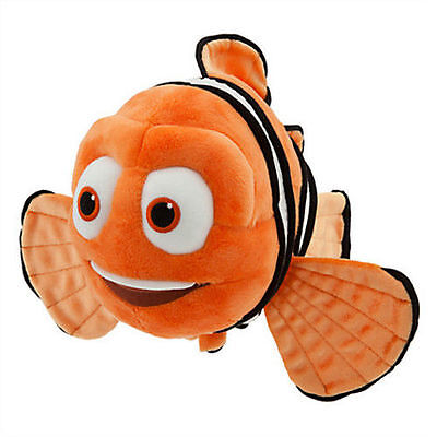 """Disney Store Marlin Plush 12"""" Nemo's Dad Based on the 2016 Film Finding Dory"""