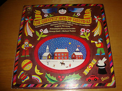 THE GREATEST HITS OF CHRISTMAS - Various Artists - LP '73 CBS UK