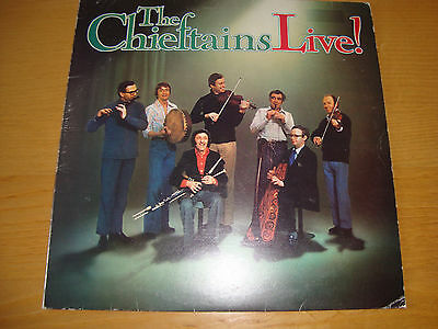 The Chieftains 'live' Lp 1977 Island / Top Audio