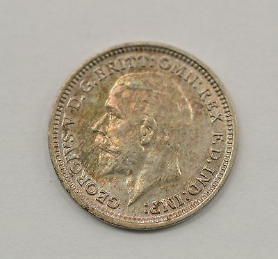 1934 Great Britain 3 Pence Foreign Coin *Q46