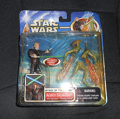 Star Wars ~ ANANKIN~ Mint in Package~ Attack of the Clones ~ 2002