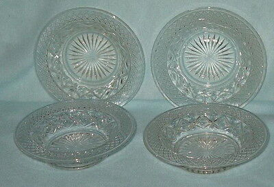 Imperial Cape Cod 4 Baked Apple Dish Bowls