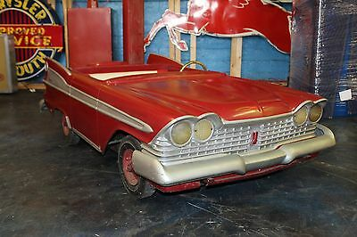 1959 Plymouth Fury Dealer Promotional Kiddie Ride Car in Original Condition